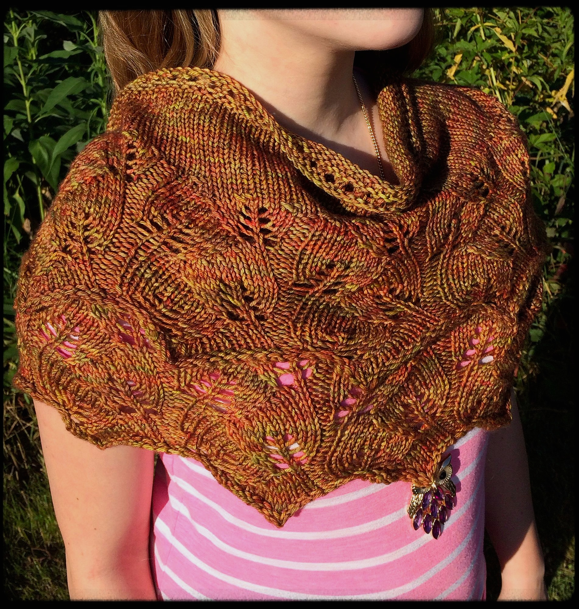 Dreambird Knitting Pattern : Dreambird Progress and a Leafy Shawl knit my zen